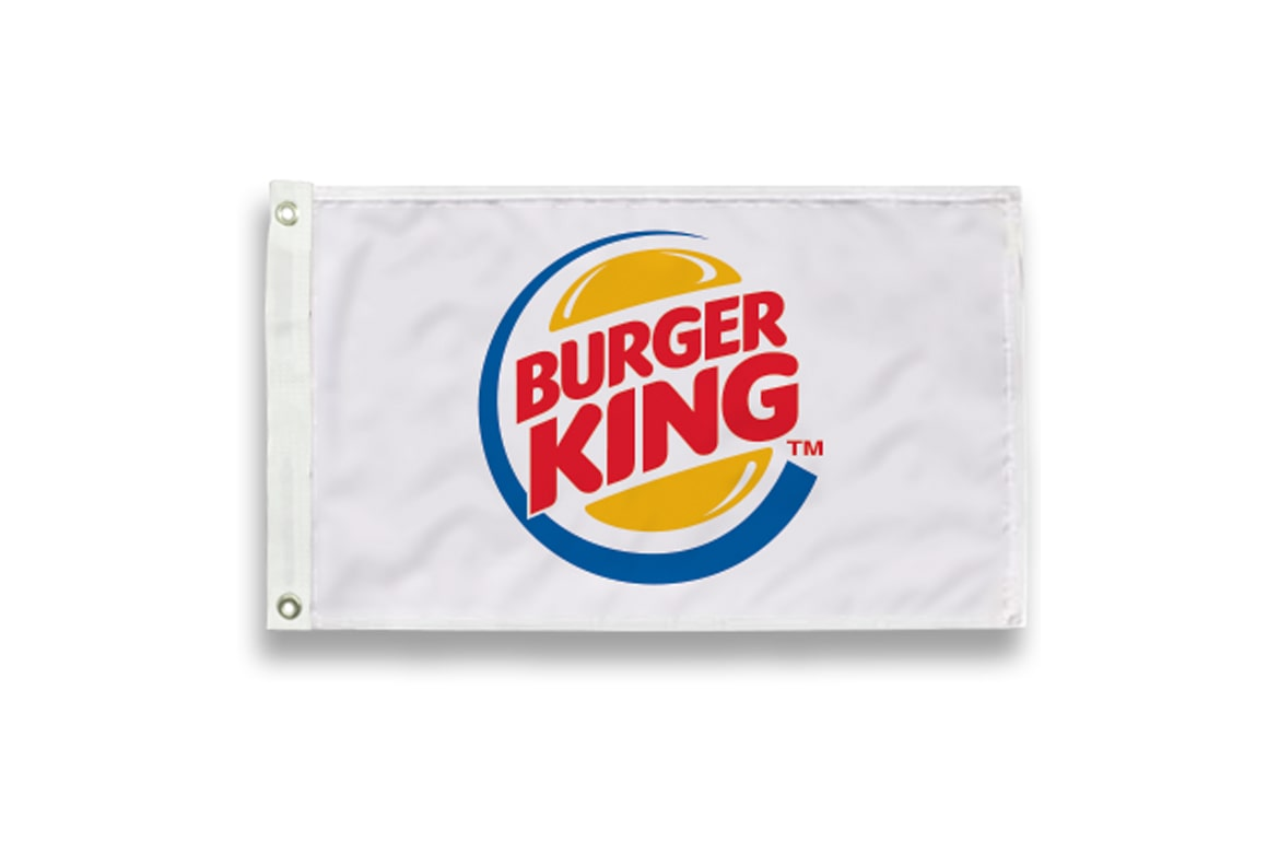 Burger King Corporate Flag